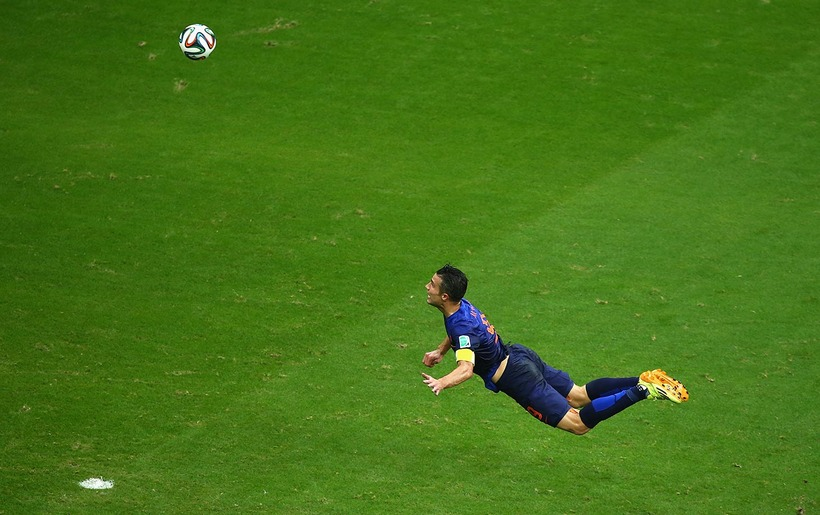 Wc moments van persie
